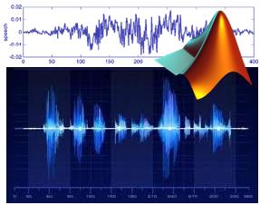 Training on Speech Coding Methods with MATLAB